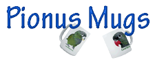 Pionus Parrot's Website - Pionus Mugs